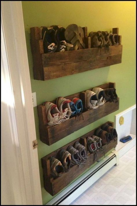 47 Awesome Shoe Rack Ideas In 2020 Concepts For Storing Your Shoes In 2020 Closet Shoe Storage Entryway Shoe Storage Diy Shoe Storage