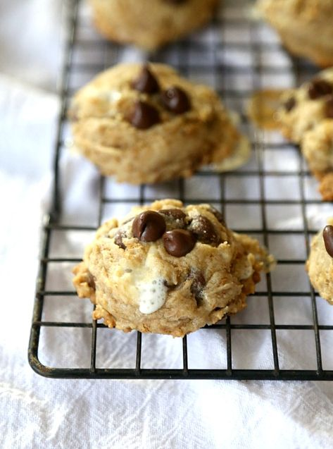 LOVE these Campfire Cookies!!! SO gooey and thick!