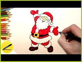 Wie Der Weihnachtsmann Etappenweise Zu Zeichnen Easy Christmas Drawings Weihnachten Zeichnung Weihnachtsmann Zeichnen Weihnachten Zeichnen