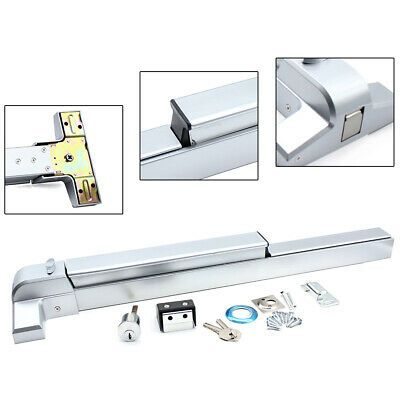 Details About Door Push Bar 1 Pack Panic Exit Emergency Lock Device Hardware Latches Fast Ship In 2020 Hardware Ebay Panic