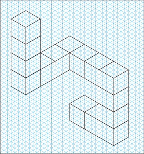 Isometric Graph Paper  Google Search  Art General