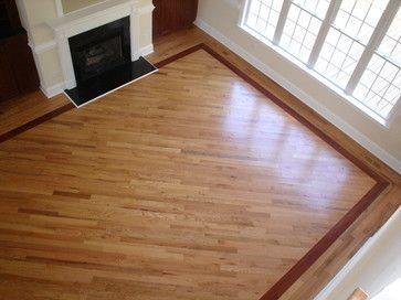Strong And Reliable Hardwood Flooring Installation Hardwood Flooring Designs Hardwood Floors With Borders Design Wood Floor Design Floor Design Hardwood Floors