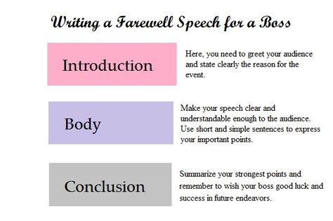 Farewell Speech for a Colleague Who Is Leaving Farewell speech - salutatorian speech examples
