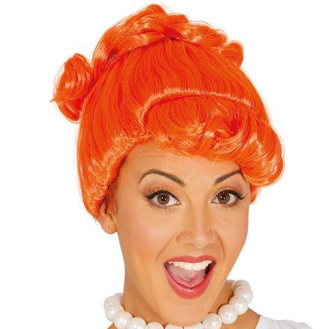 Perruque Wilma Pierrafeu #perruquesdéguisements #accessoiresdéguisements #accessoiresphotocall