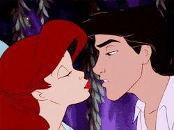 • photoset gif mine disney the little mermaid ariel Walt Disney mermaid prince eric Triton elleamani •