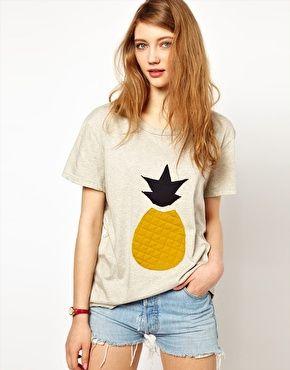 Image 1 - Les Prairies De Paris - T-shirt motif ananas