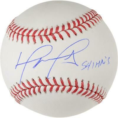 David Ortiz Red Sox Signed Baseball With 541 Hr S Fanatics David Ortiz Baseball Online Red Sox