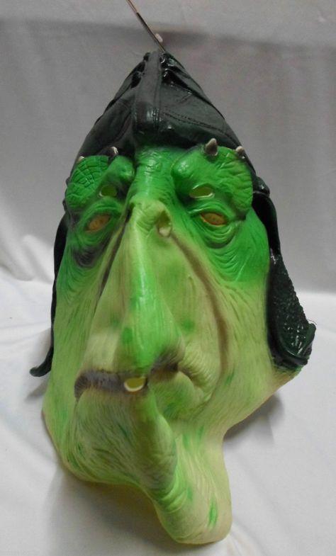 Star Wars Episode I Boss Nass Adult 3 4 Vinyl Mask Licensed