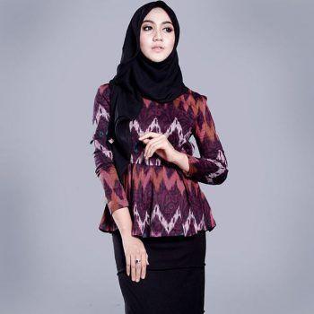 64 Contoh Baju Batik Modern Untuk Remaja Kekinian