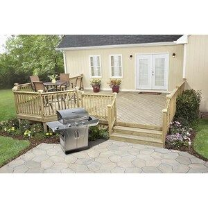 Severe Weather 4 In X 4 In X 8 Ft 2 Pressure Treated Lumber Lowes Com In 2020 Patio Building A Deck Pergola Patio