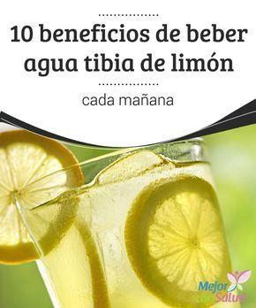 agua tibia con limon ayuda a adelgazar
