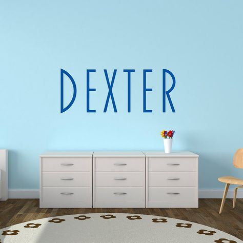 personalised name decal childs name vinyl wall stickers - blakely
