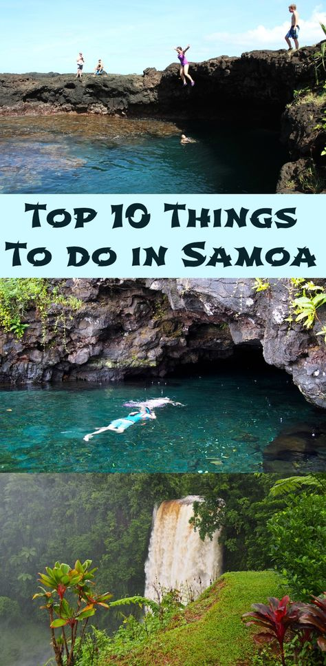 Top 10 Things to do in Samoa