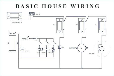 schematic diagram house electrical wiring  house wiring