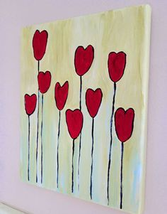 Valentine S Day Painting Ideas Yahoo Image Search Results Kids Canvas Art Valentines
