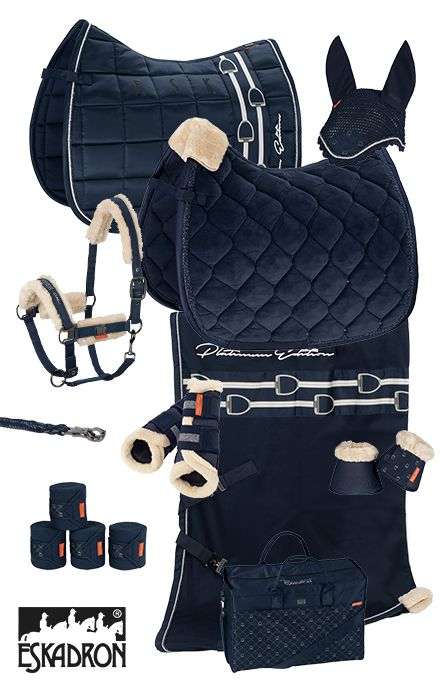 Eskadron Platinum Navy Eskadron Platinum Navy - Art Of Equitation Horse Riding Gear, Horse Riding Clothes, Horse Gear, Horse Saddle Pads, Saddle Rack, Horse Tips, Equestrian Boots, Equestrian Outfits, Equestrian Style