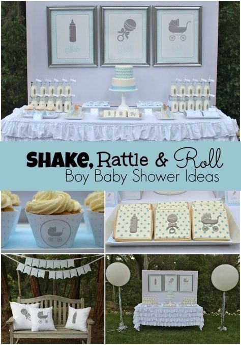 Pin By Amanda Brinegar On Baby Shower In 2020 With Images Boy Baby Shower Themes Baby Boy Shower Party Baby Boy Shower
