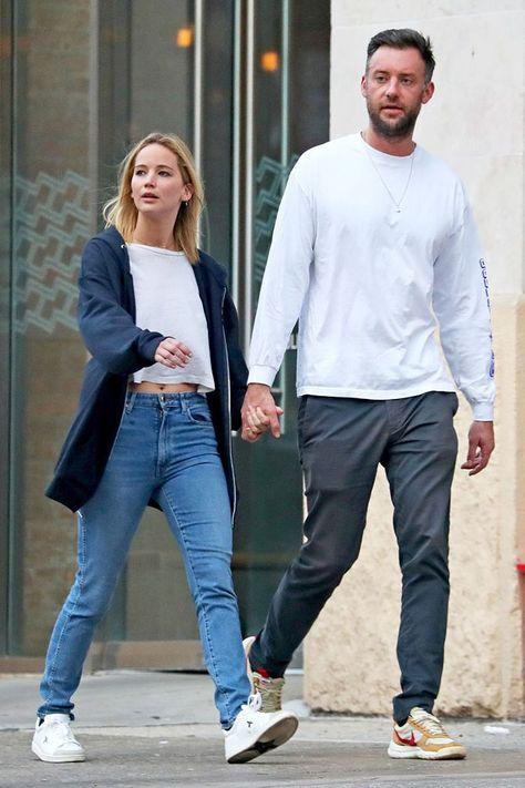 Jennifer Lawrence and boyfriend