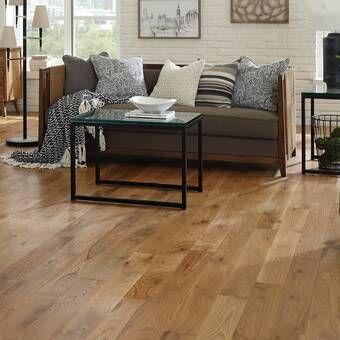 Oak 3 4 Thick X 2 1 4 Wide X 75 Length Solid Hardwood Flooring