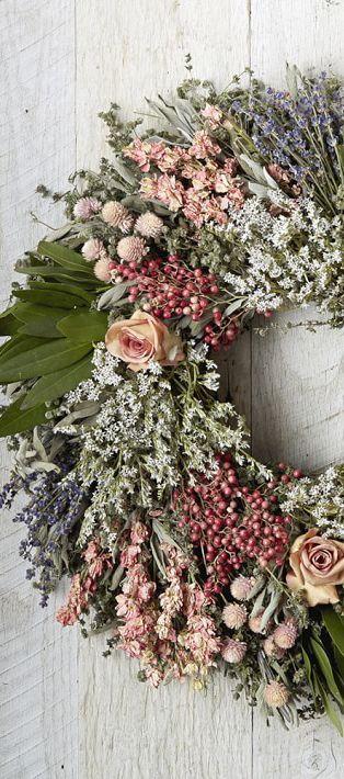 Spring Decorating Ideas Spring Home Decor Design Ideas Dried Flower Wreaths Spring Decor Spring Wreath