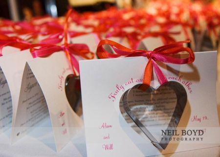 Heart Shaped Cookie Cutters Are A Lovely Wedding Favor Choice See More Favors And Party Ideas At One Stop