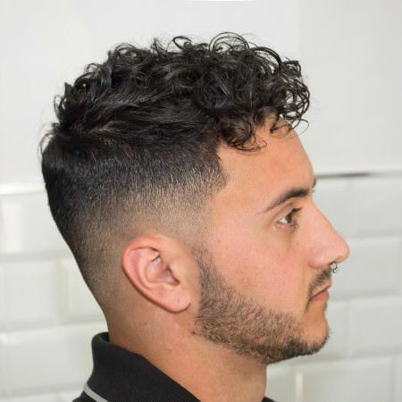 20 Pompadour Hairstyles For Men Curly Hair Men Mens Haircuts Fade Curly Hair Fade