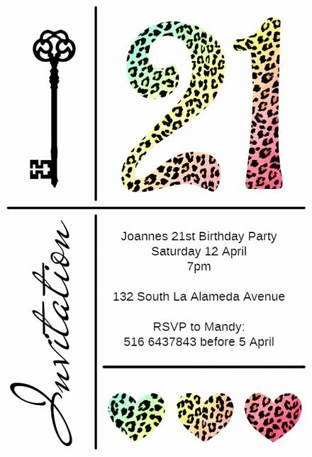 21st Birthday Party Invitations Best Of 21st Birthday Invitation Template 21st Birthday Invitations 1st Birthday Invitations Free Birthday Invitation Templates