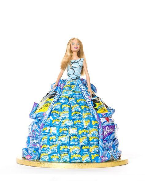 barbie candy centerpiece | jueves, 19 de abril de 2012
