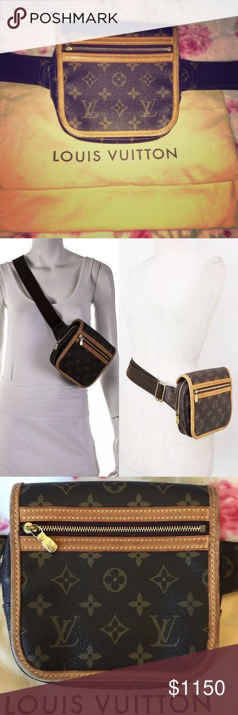 38f188886da3 Louis Vuitton Fanny Pack   Crossbody   Belt Bag Louis Vuitton Bosphore  Fanny Pack  Bum Bag  Belt Bag Crossbody 100% Authentic Date Code SP 0096   Made in ...