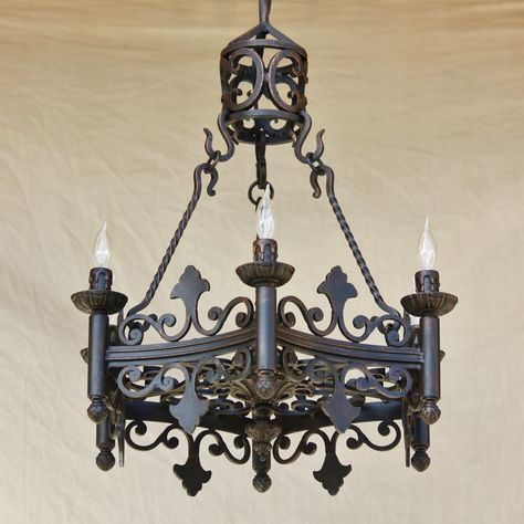 Spanish revival chandelier spanish colonial revival style spanish revival chandelier aloadofball Images