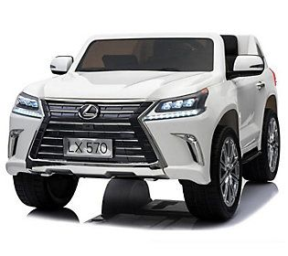 Best Ride On Cars Lexus Lx 570 White Qvc Com In 2021 Toy Cars For Kids Kids Ride On Lexus