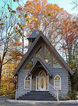 Wedding Chapel In The Glades Chapel Wedding Gatlinburg Weddings Chapel