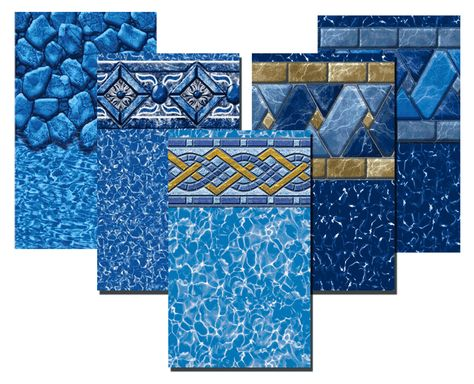 7 new selections to choose from. http://www.abovegroundpoolbuilder.com/above-ground-pool-liners/