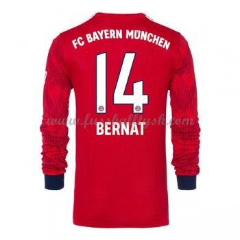 Bundesliga Fussball Trikots Bayern Munich 2018 19 Juan Bernat 14 Heimtrikot Langarm Bayern Bayern Munich Franck Ribery
