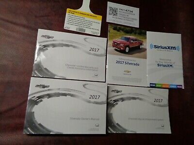 2017 17 Chevrolet Silverado 1500 2500 3500 Truck Owners Manual Books Nav All In 2020 Chevrolet Silverado 1500 Owners Manuals Chevrolet Silverado