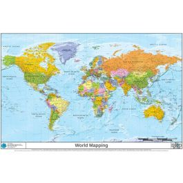 This is a very high resolution detailed World mapping with a ...