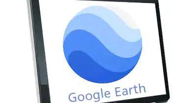 تحميل برنامج قوقل إيرث مباشر للكمبيوتر والموبايل Google Earth 2020 Tech Logos Vodafone Logo Tech Company Logos
