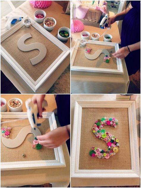 40 Extraordinary DIY Button Craft Ideas - Bored Art