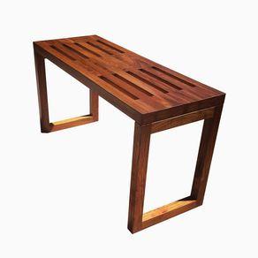 Modern Teak Bench By Alex Deutschman Teak Bench Diy Bench Outdoor Teak