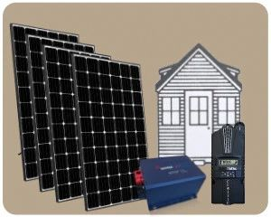 Colorado Solar Tiny House Solar Kit 1200w Th 1200w Default Title Solar Panels And Solar Equipment Solarpane In 2020 Solar Kit Solar Energy Panels Solar System Kit