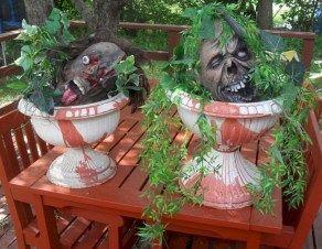 Diy Scary Halloween Decorations Outdoor And Garden 12 Halloween