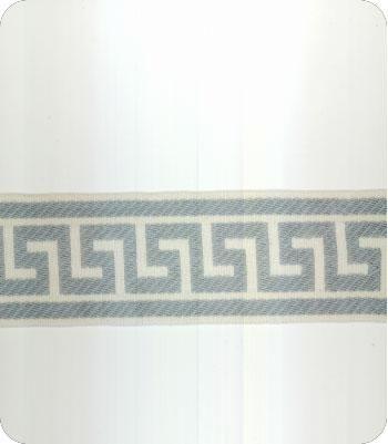 Athens Key Blue Wide Tape Trim