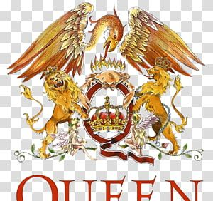 Queen Musician Rock Logo Queen Band Transparent Background Png Clipart Music Stickers Queen Queen Band