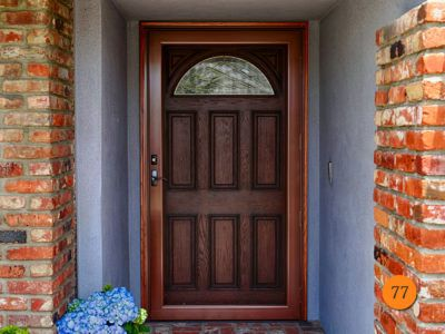 Traditional 6 Panel 42x80 42 Inch Wide Front Entry Door Jeld