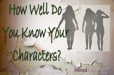 It's important, as a writer, to know your characters well. Otherwise, you're characters will be too incomplete, causing your readers to not sympathize or fall in love with them. I have problems with this as well. write.