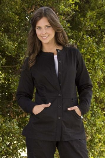 2f075b120ac Olivia Jacket (Black) Clean, sleek and simple, this versatile jacket ...