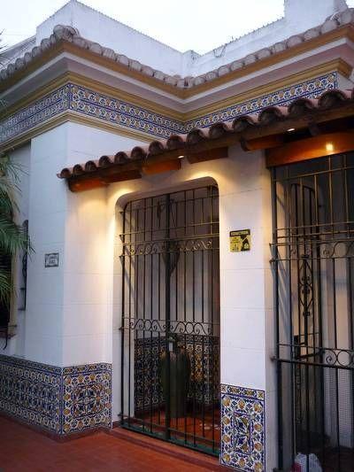 Azulejos Fachadas de casas mexicanas Pinterest