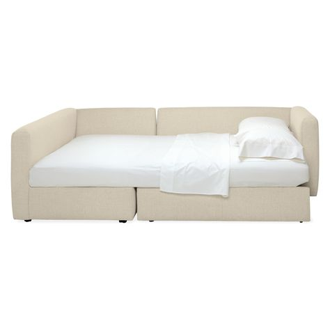 Oxford Pop Up Platform Sleeper Sofa With Storage Chaise In 2018