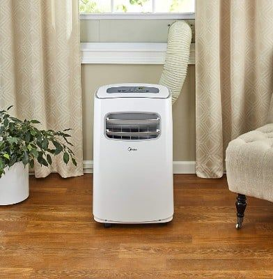 Midea Easycool 3 In 1 Portable Air Conditioner With Dehumidifier And Fan Functi Portable Air Conditioner Heater Air Conditioner Heater Portable Air Conditioner