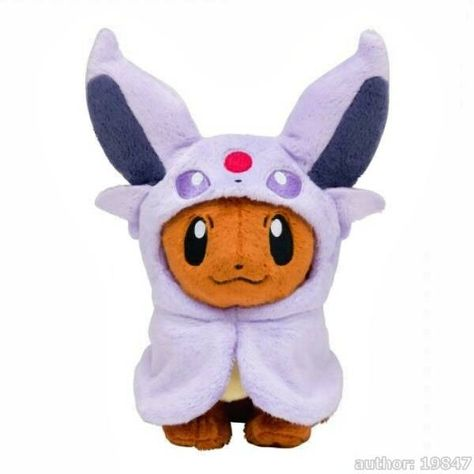 "Vaporeon Pokemon Plush Pokedoll Showers Water Type Stuffed Animal Toy Doll 5/"""